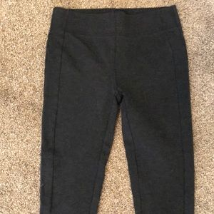 Loft grey leggings cropped